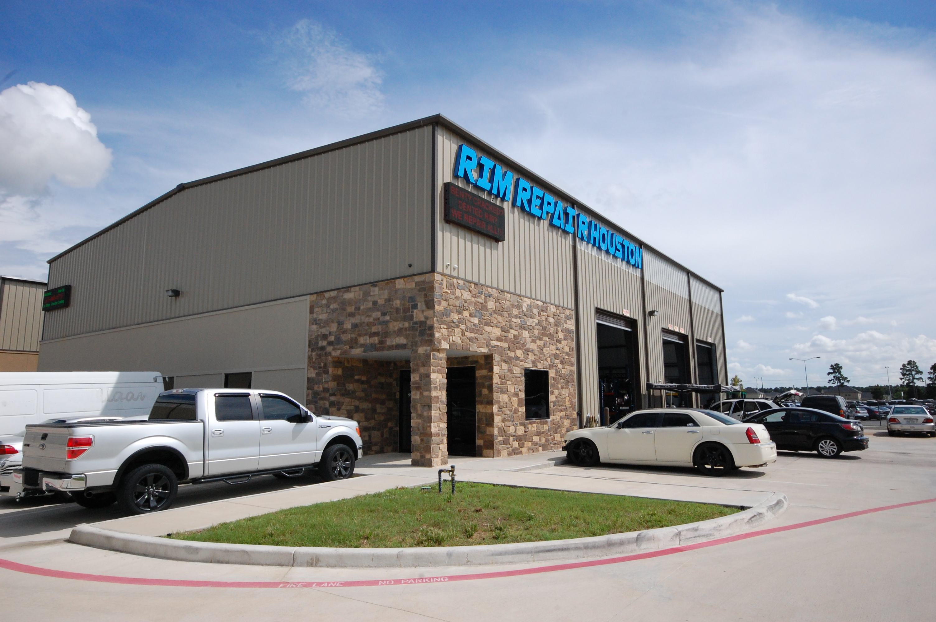 Rim Repair Houston Black Label Commercial Group